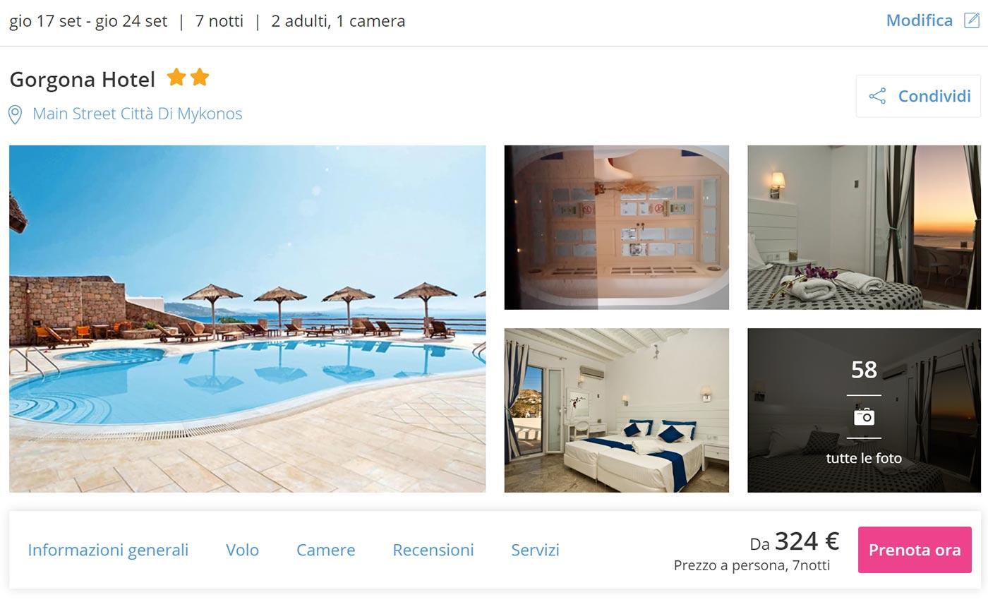 Estate a Mykonos: Volo + Hotel 7 notti con colazione da 324€
