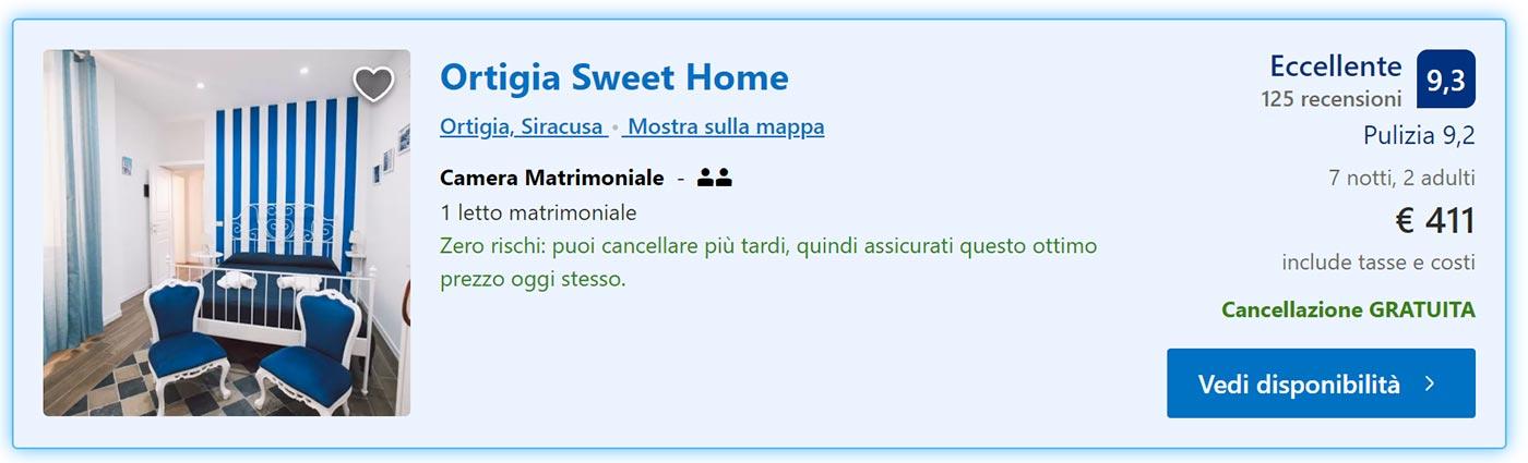 Estate in Sicilia: 7 notti ad Ortigia da 205€