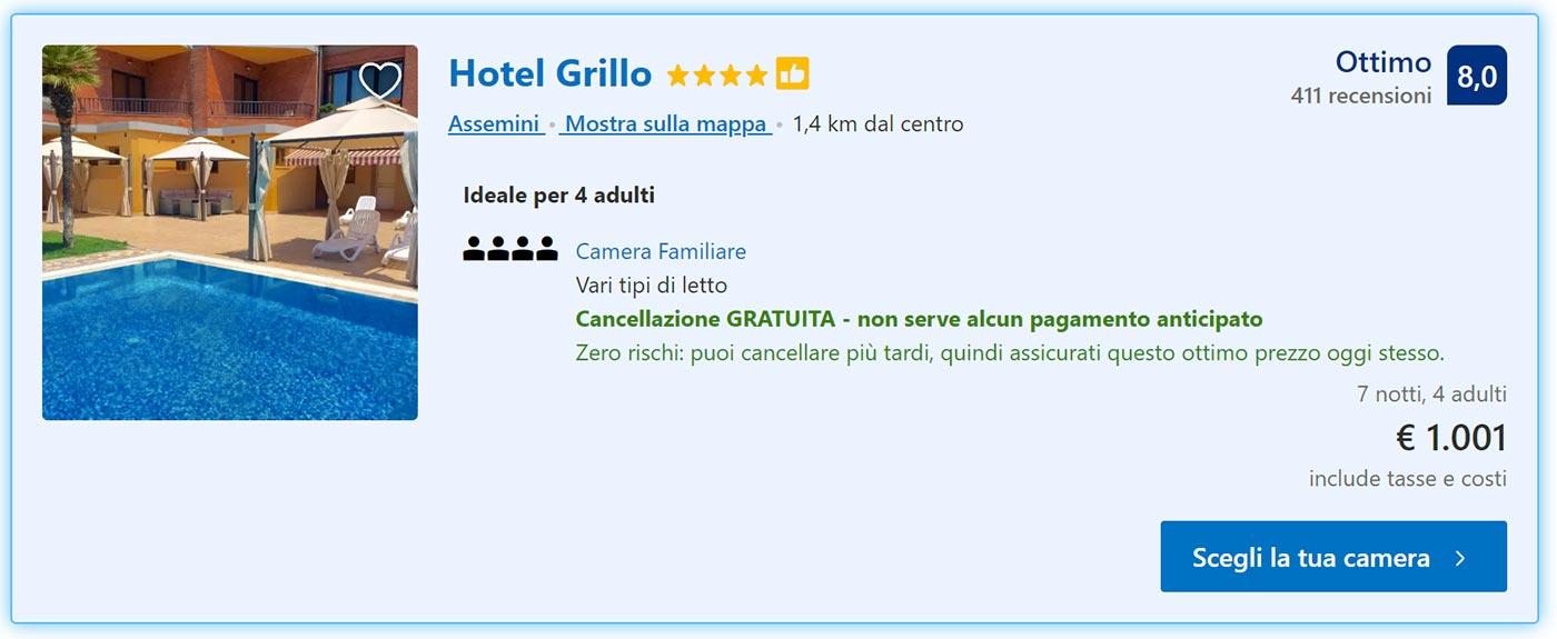 Sardegna del Sud: 7 notti in Hotel 4* da 250€
