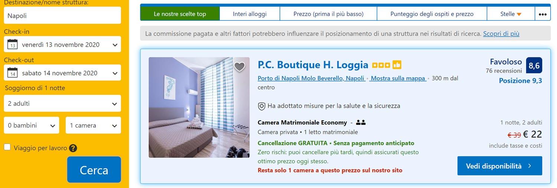Weekend a Napoli: Hotel 3* al Centro da 11€/notte